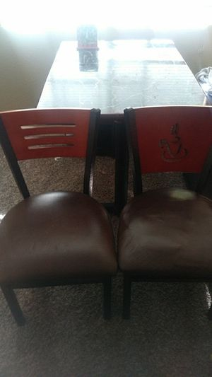 Chairs And A table for Sale in Las Vegas, NV