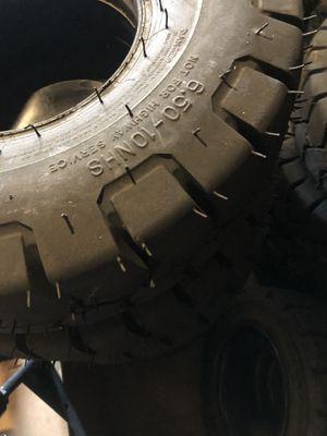 Forklift tires for sale for Sale in Arlington, TX