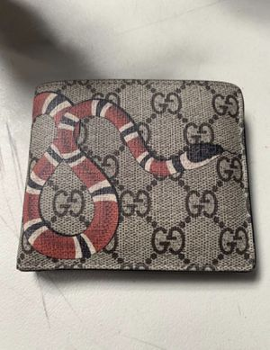 Gucci Supreme wallet GG print large wallet for Sale in Queen Creek, AZ