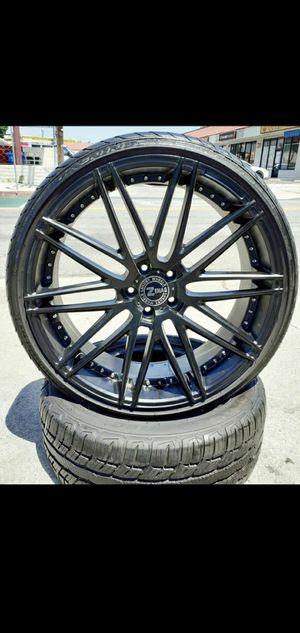 "20"" Altima Accord Camry Lexus BMW Wheels & Tires Mercedes Kia MAZDA infinity Acura Civic Maxima Scion setof4 for Sale in Los Angeles, CA"