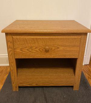 Wooden Nightstand for Sale in Atlanta, GA