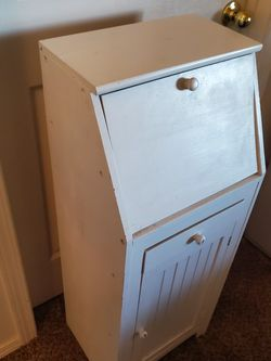 Solid Wood Cupboard Cabinet Organizer Pantry With a Drawer And Enclosed Shelves for Sale in Boise,  ID