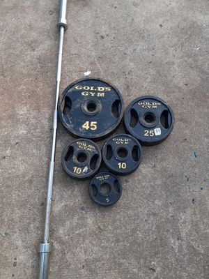 210lb and bar for Sale in Decatur, GA