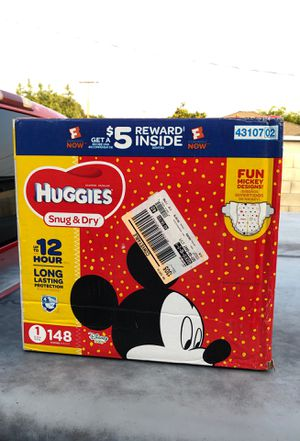Huggies Diapers size 1 for Sale in Santa Ana, CA