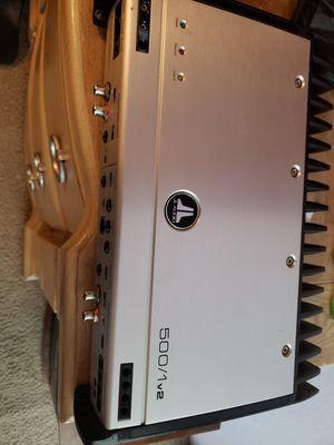 Jl audio 500/1v2 subwoofer amplifier for Sale in Vancouver, WA