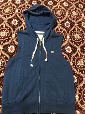 Blue sleeveless Hoodie size small for Sale in Arcadia, CA