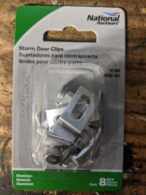 Storm door clips. New! for Sale in Watertown, MA