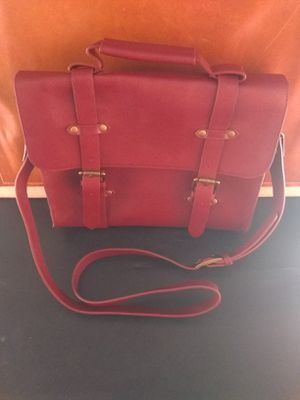 New red leather messenger bag by Solemate for Sale in Redondo Beach, CA