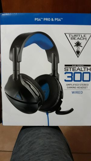 PS4 headset Turtle Beach stealth 300 for Sale in Oviedo, FL
