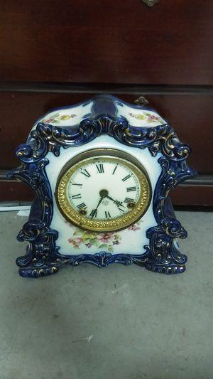 Antique Porcelain Ansonia Mantle Clock for Sale in Hialeah, FL