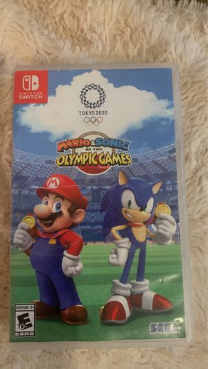 Mario and Sonic at the Olympic Games Tokyo 2020 for Sale in Riverside, CA
