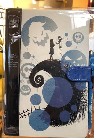 Nightmare before Christmas Journal w/ Matching Pen for Sale in San Jose, CA