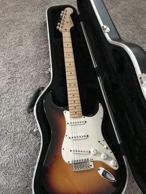 Fender Strat with case for Sale in Detroit, MI