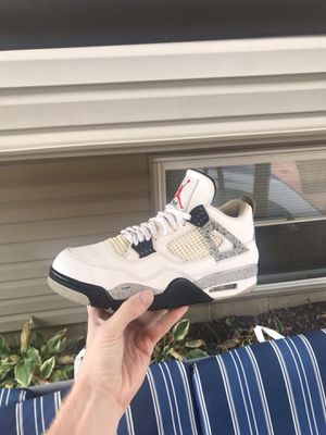 """Jordan """"cement"""" 4s - size 10.5 - og all - $160 for Sale in Galloway, OH"""