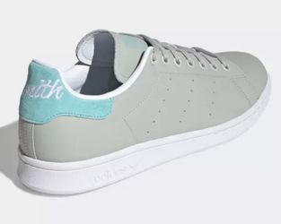 New Adidas Stan Smith Easy Mint Green White Suede Men's Shoes Sneakers Size 9.5 for Sale in Franklin, TN