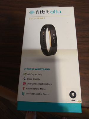 fitbit alta. (Gold Series) size s for Sale in St. Louis, MO