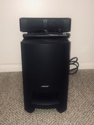 BOSE CINEMATE 15 DIGITAL HOME THEATRE SYSTEM for Sale in San Diego, CA