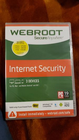 Webroot for Sale in Cary, NC
