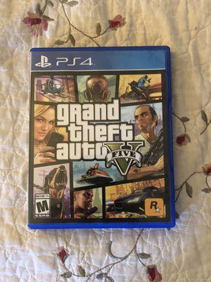 GTAV (PS4) for Sale in Santa Ana, CA