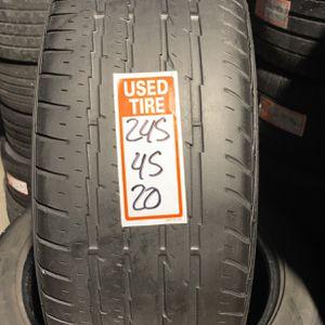 Tires 245/45/20 Firestone for Sale in Opa-locka, FL