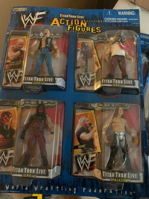 Wwf action figures for Sale in Columbus, OH