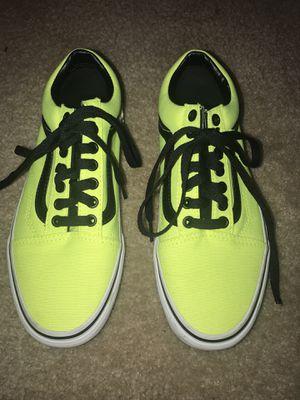 Lime green and black vans for Sale in Atlanta, GA