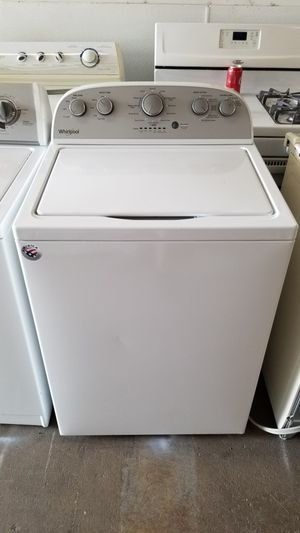 WHIRLPOOL WASHER 30 DAYS WARRANTY for Sale in Columbus, OH