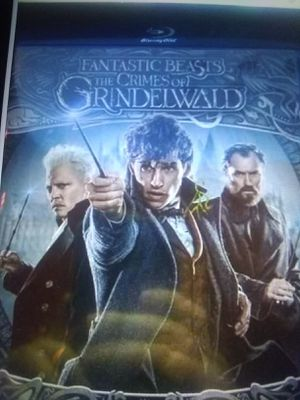 Fantastic Beast The Crimes Of Grindelwald (Blu-ray) for Sale in Traverse City, MI