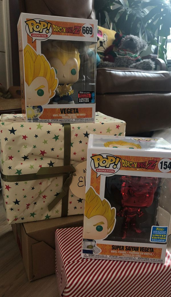 Exclusive Funko pops, gift wrap included
