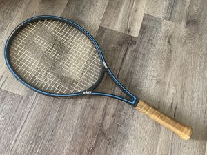Prince tournament graphite series 110 tennis racket - excellent condition for Sale in Littleton, CO