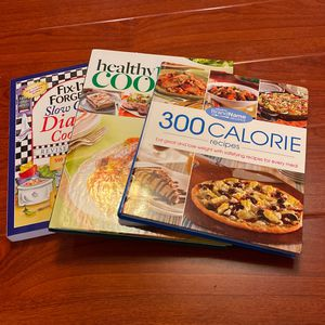 3 Healthy Living Cookbooks for Sale in Howell Township, NJ
