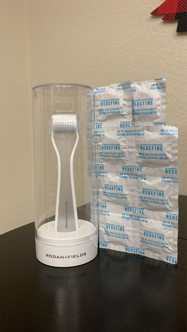 Rodan + Fields Redefine Roller and Purification Tablets