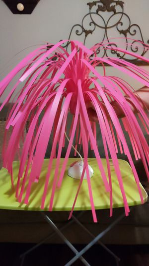 Pink Hanging Fountain-Style Chandelier Light for Sale in Sanford, FL
