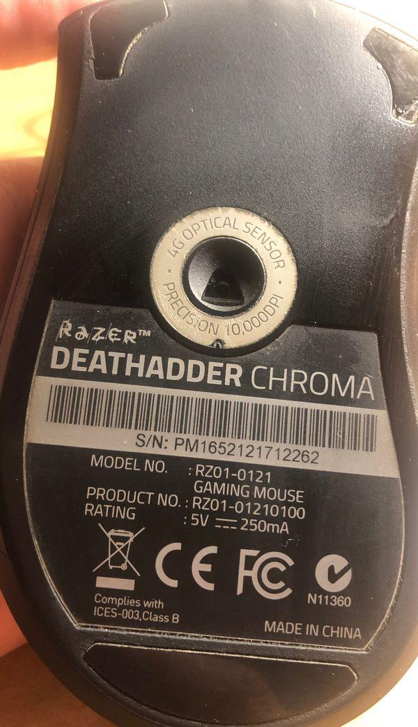 Razer Deathadder Chroma Mouse
