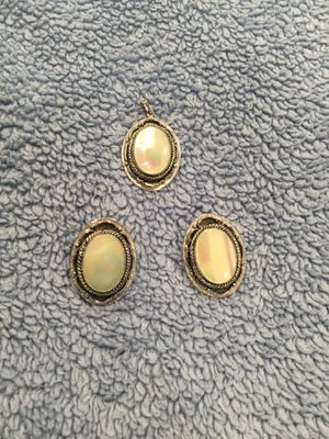 Earrings and pendant for Sale in Port Orchard, WA