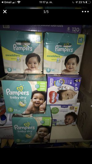 Pampers $20.00 box for Sale in Portland, OR