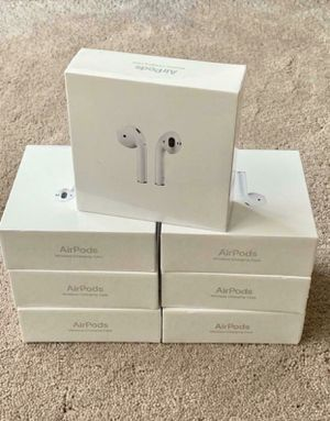 AirPods - 2nd Gen - wireless charging case - Brand new (wholesale / lot / bulk) for Sale in Stockton, CA