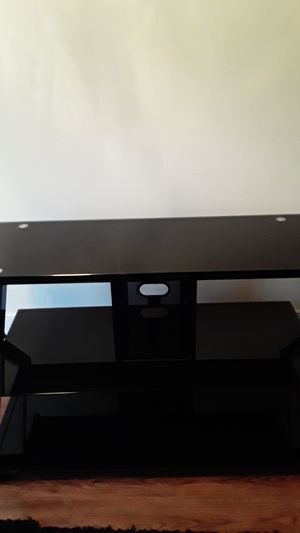 STYLISH GLASS TV STAND for Sale in Washington, DC