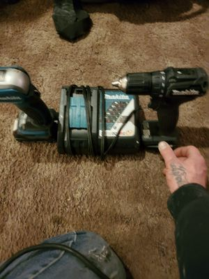 Makita sub compact LXT brushless drill driver with flashlight charger and a battery for Sale in Salt Lake City, UT