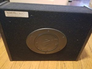 Subwoofer and amp for Sale in Washington, DC