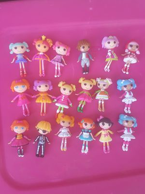 "Lalaloopsy 3"" dolls, pets, bus, ferris wheel and more for Sale in Tempe, AZ"