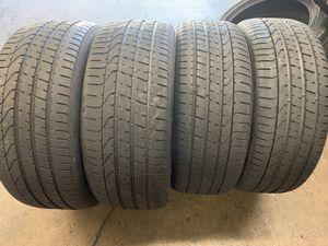 Tires 245/40r21 Pirelli for Sale in Anaheim, CA