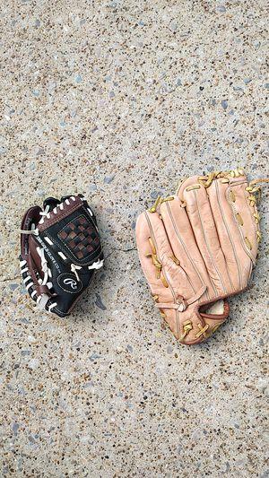 Baseball gloves - Rawlings - Mizzuno - Adidas - Franklin for Sale in Dallas, TX
