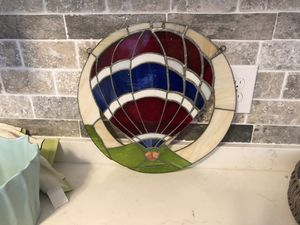 Stained glass balloon hanging decor for Sale in Bonita Springs, FL