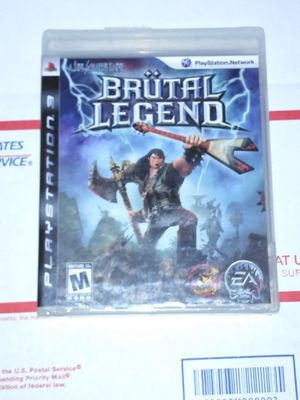 Brutal legend PS3 brand new factory sealed for Sale in Chicago, IL
