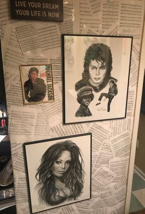 Janet and Michael collectibles for Sale in Tallahassee, FL