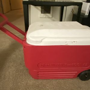 Red Cooler for Sale in Portland, OR