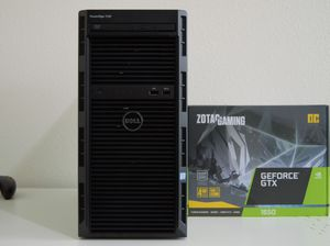 GAMING COMPUTER DELL Intel Xeon NVIDIA Geforce Windows 10 PC for Sale in Saint Johns, FL