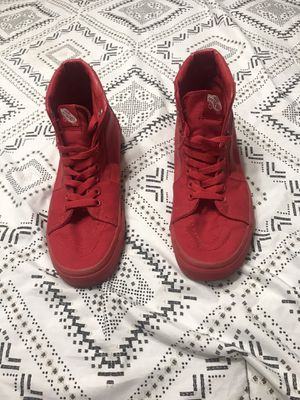 Red vans for Sale in Garland, TX