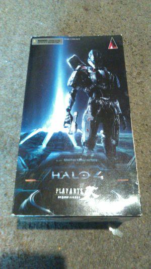 Halo 4 Play Arts Kai Spartan Sarah Palmer Action Figure for Sale in Tacoma, WA
